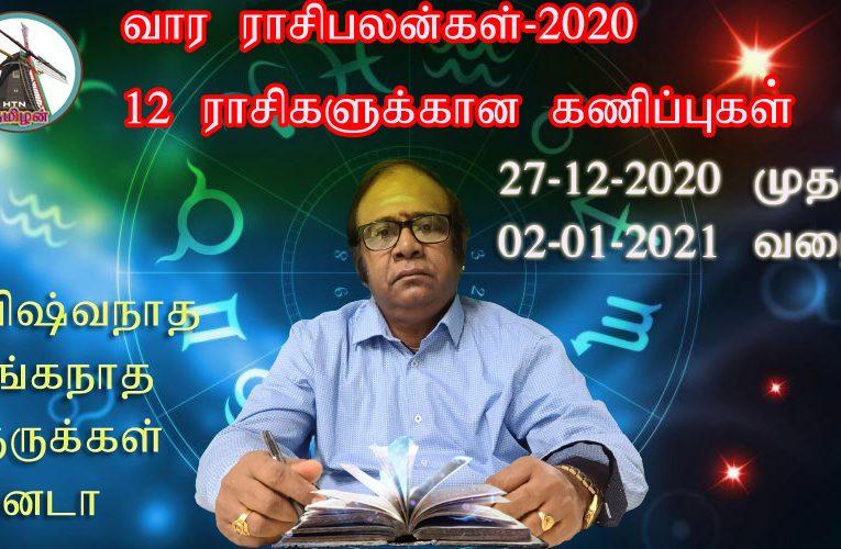 Weekly Rasipalan 27-12-2020